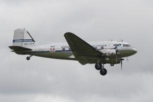 """SE-CFP """"Daisy"""" eller """"Fridtjof Viking"""". Läs hennes otroliga historia här: http://flygandeveteraner.se/om/daisys-l-nga-historia-r-f-r-r.html"""